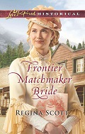 Frontier Matchmaker Bride, book 8 in the Frontier Bachelor series